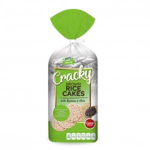 Rice Cakes with Quinoa & Chia