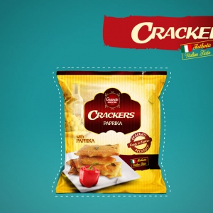 CRACKERS PAPRIKA