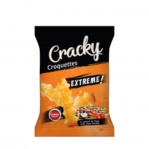 Cracky Extreme Croquettes With Pizza Flavour