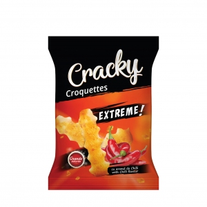 Cracky Extreme Croquettes With Chilli Flavour