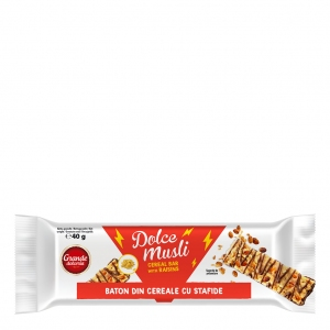 Dolce Musli Cereal bar with Raisins