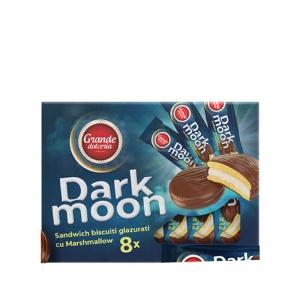 Dark Moon Marshmallow Chocolate Glazed Biscuits Box