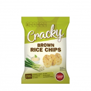 Rice Chips with Cream & Onion
