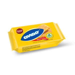 BISCUITI CRACKY SPICY 100g