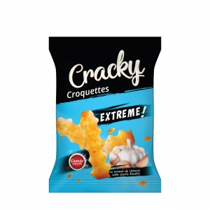 Cracky Extreme Croquettes With Garlic Flavour