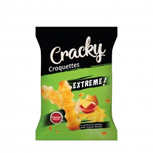 Cracky Extreme Croquettes With Nachos Flavour